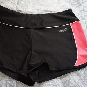 Black and pink Avia Athletic shorts